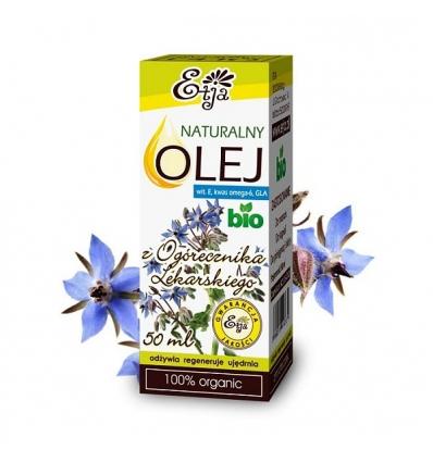 Olej z Ogórecznika Lekarskiego BIO 50 ml (Etja)