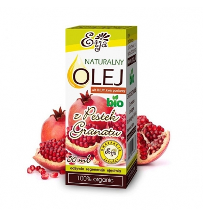 Olej z Pestek Granatu BIO 50 ml (Etja)
