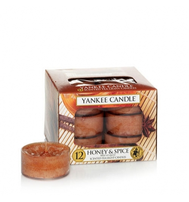 Honey & Spice (Tealight)