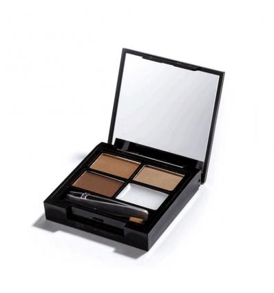 Zestaw do brwi Medium Dark (Makeup Revolution)