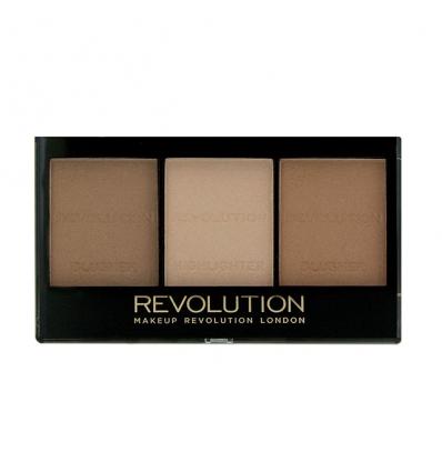 Paleta do konturowania Light/Medium C04 (Makeup Revolution)