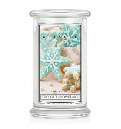 Coconut Snowflake (Duży słój - 2 knoty)