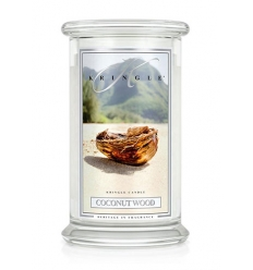 Coconut Wood (Duży słój - 2 knoty)