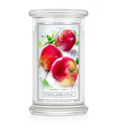 Cortland Apple (Duży słój - 2 knoty)