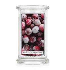Frosted Cranberry (Duży słój - 2 knoty)
