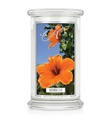 Hibiscus (Duży słój - 2 knoty)