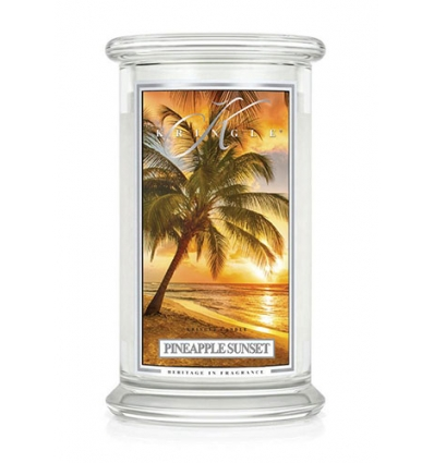 Pineapple Sunset (Duży słój - 2 knoty)