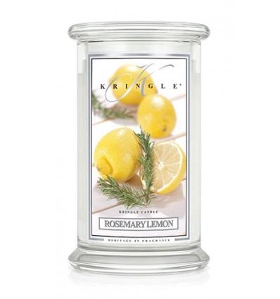 Rosemary Lemon (Duży słój - 2 knoty)