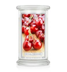 Royal Cherries (Duży słój - 2 knoty)