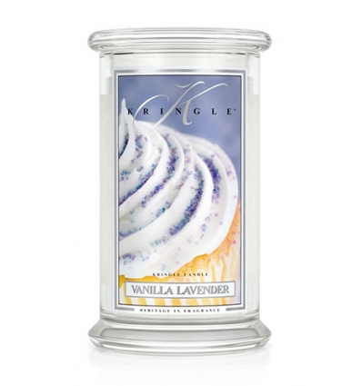 Vanilla Lavender (Duży słój - 2 knoty)