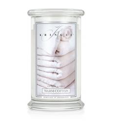Warm Cotton (Duży słój - 2 knoty)