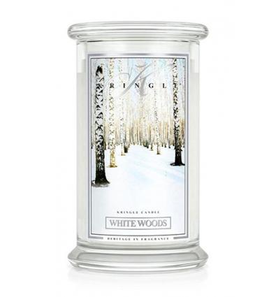 White Woods (Duży słój - 2 knoty)