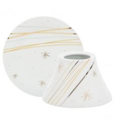 Starry Night Ceramic (duży klosz + podstawka)