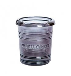 Bucket - czarny świecznik na sampler