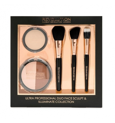Zestaw Professional Duo Face Sculpt & Illuminate (Makeup Revolution)