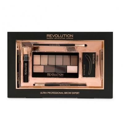Zestaw Ultra Professional Brow Expert (Makeup Revolution)