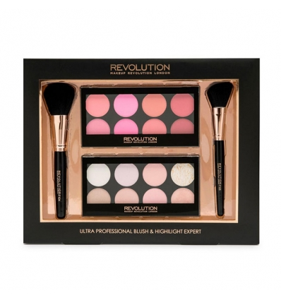 Zestaw Ultra Professional Blush & Highlight Expert (Makeup Revolution)