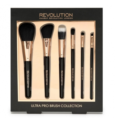 Zestaw  Ultra Pro Brush Collection (Makeup Revolution)