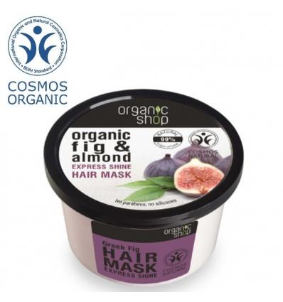 ORGANICZNA maska do włosów GRECKA FIGA i OLEJ MIGDAŁOWY (Organic Shop)