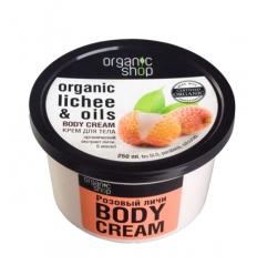 ORGANICZNY krem do ciała RÓŻOWE LICZI (Organic Shop)