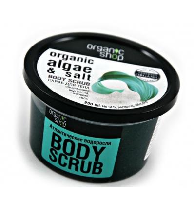 ORGANICZNY scrub do ciała ATLANTYCKIE WODOROSTY (Organic Shop)