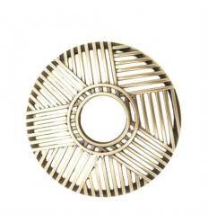 Crosshatch Brass (Illuma-Lid)