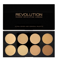 Paleta korektorów Ultra Cover and Concealer Palette Light - Medium (Makeup Revolution)