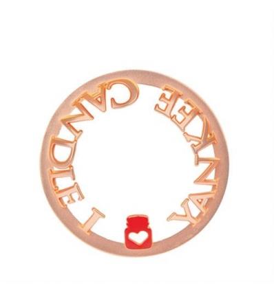 Rose Gold I Love YC (Illuma-Lid)