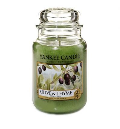 Olive & Thyme (Duży słoik)