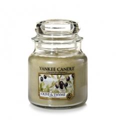 Olive & Thyme (Średni słoik)