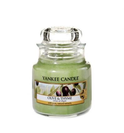 Olive & Thyme (Mały słoik)