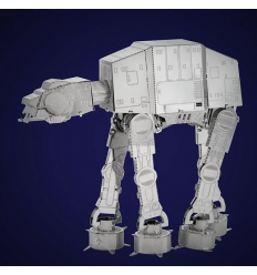 Metalowy model do składania Star Wars