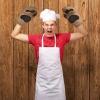 Rękawice kuchenne Niedzwiedzie Łapy