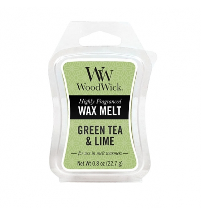Green Tea & Lime (Wosk sojowy)