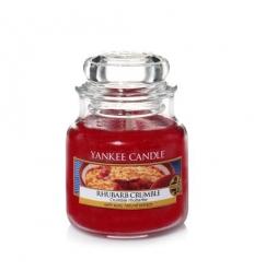 Rhubarb Crumble (Mały słoik)