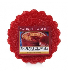 Rhubarb Crumble (Wosk)