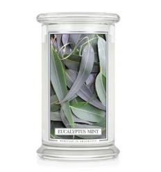 Eucalyptus Mint (Duży słój - 2 knoty)