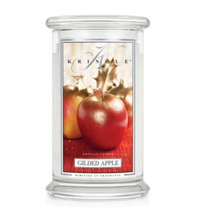 Gilded Apple (Duży słój - 2 knoty)