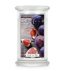 Oak & Fig (Duży słój - 2 knoty)