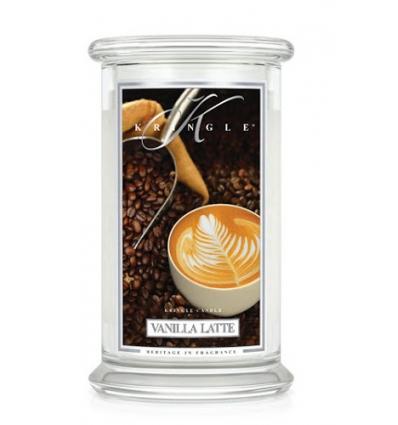 Vanilla Latte (Duży słój - 2 knoty)