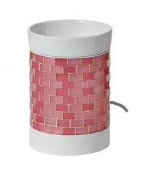 Elektryczny kominek Glitter Glow (różowy)
