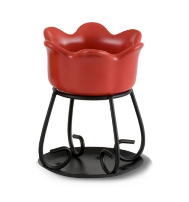 Podgrzewacz Petal Bowl (czerwony)