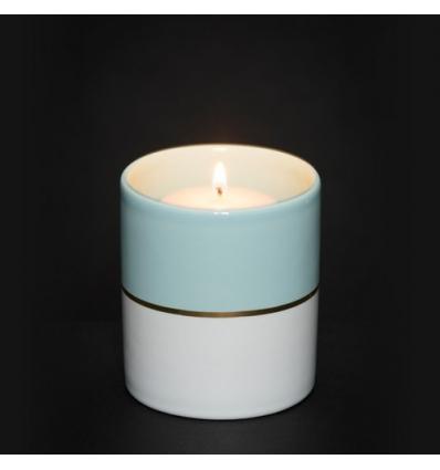 Simply Pastel - świecznik na sampler niebieski