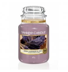 Dried Lavender & Oak (Duży słoik)