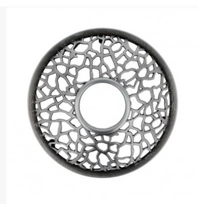 Matrix Brushed - nakładka na słoik (Bronze Copper Punched Metal)