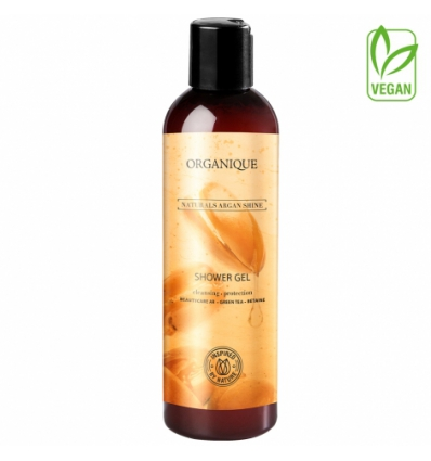 Odżywczy żel pod prysznic dla skóry suchej - Naturals Argan Shine (250ml)