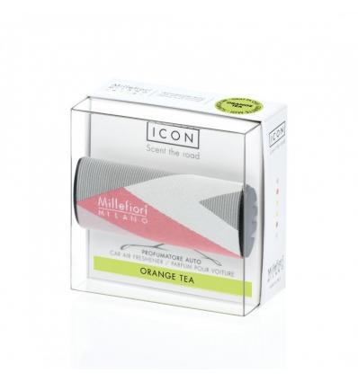 Orange Tea - Textile Geometric (Car ICON)