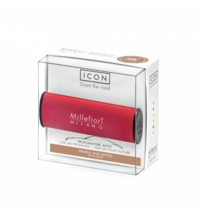 Vanilla & Wood (Red) - Classic (Car ICON)