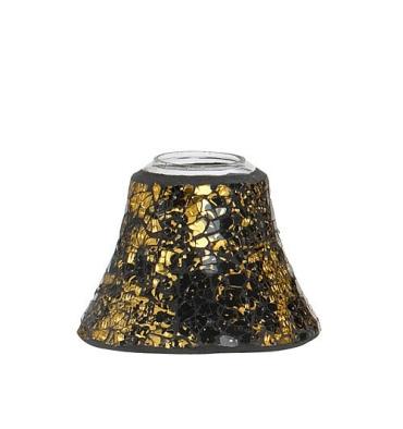 Black and Gold Mosaic (mały klosz)