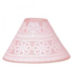 Lace Pink (duży klosz)